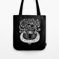 Let Curiosity Kill Me, I… Tote Bag
