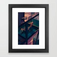 Karaoke Framed Art Print