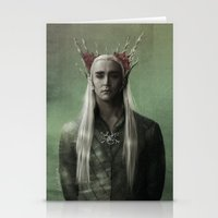The Great King Thranduil Stationery Cards