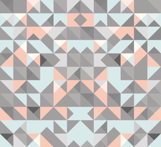 Triangular Pattern Art Print