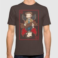 Kings Among Men Mens Fitted Tee Brown SMALL