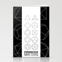 Perspective Matters Stationery Cards