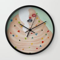 Ms. Candy Wall Clock