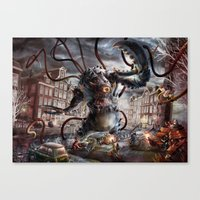 Amsterdamned Canvas Print