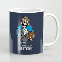 How I Met Your Plumber Mug