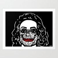 Mike... Art Print