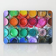 Paint Box iPad Case