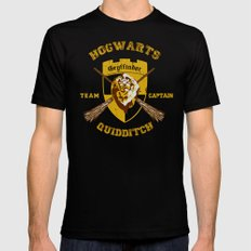 Gryffindor lion quidditch team captain iPhone 4 4s 5 5c, ipod, ipad, pillow case, tshirt and mugs Mens Fitted Tee Black SMALL