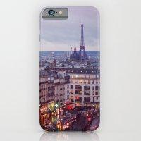 Rainy Paris. iPhone 6 Slim Case