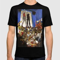 Animale Mens Fitted Tee Black SMALL