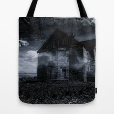 house on the edge Tote Bag