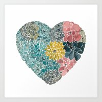 Rooted In Love No.1 Art Print