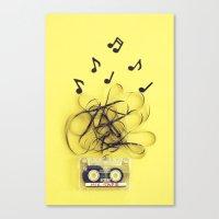 Mix Tape (ANALOG ZINE) Canvas Print