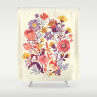 The Garden Crew Shower Curtain