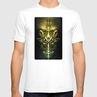 Herald Of Dawn Mens Fitted Tee White SMALL