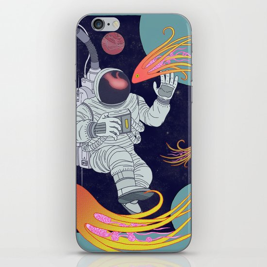 Cosmonaut iPhone & iPod Skin