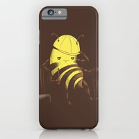 iPhone & iPod Case featuring Worker Bee by Lili Batista