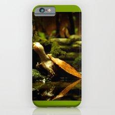 Mr. Turtle Workin' On His Tan iPhone 6s Slim Case