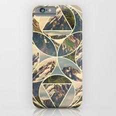 Geometric mountains 1 iPhone 6 Slim Case