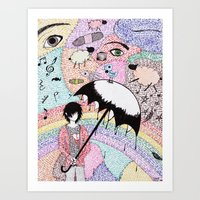 A Word is Worth 1000 pictures. Art Print