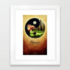 Usawa Framed Art Print