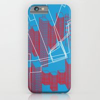 iPhone & iPod Case featuring Chicago EL Train by Ingridos