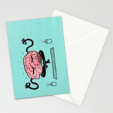 Train Your Brain Stationery Cards