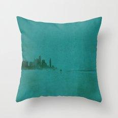 Gold Coast Throw Pillow