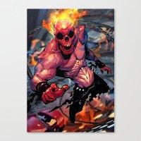 The Rider Canvas Print