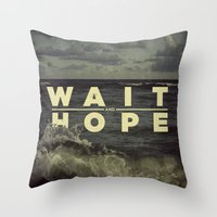 All of Human Wisdom in Two Words Throw Pillow