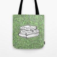 Book Drawing Meditation (digital)  Tote Bag