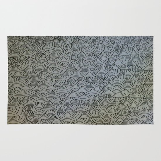 Sea of Lines Area & Throw Rug