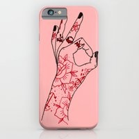 iPhone & iPod Case featuring A-OK by scoobtoobins