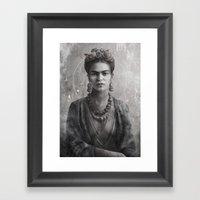 Frida Ink Framed Art Print