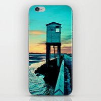 Betsy Blue iPhone & iPod Skin