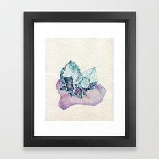 Quartz Twins Framed Art Print