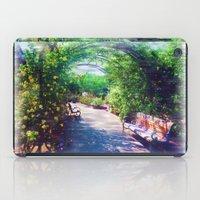 Rosy Bower iPad Case
