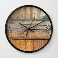 Skinny Hinge Wall Clock