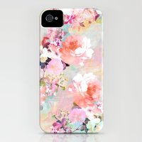 iPhone 4s & iPhone 4 Cases featuring Love of a Flower by Girly Trend