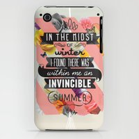 iPhone 3Gs & iPhone 3G Cases featuring The Invincible Summer by Kavan and Co