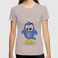 Birdie Womens Fitted Tee Cinder SMALL
