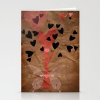 Little Tree Of Love Stationery Cards