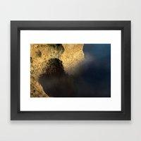 Sturdy Sea Framed Art Print