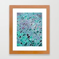 Energy Mosaic Framed Art Print