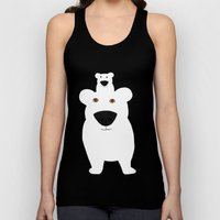 Winter - Polar Bear 2 Unisex Tank Top