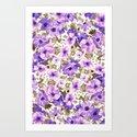 LIKE A FLOWER V Art Print