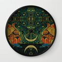 They Who Drink Chaos Wall Clock