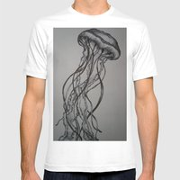 Vert Mens Fitted Tee White SMALL