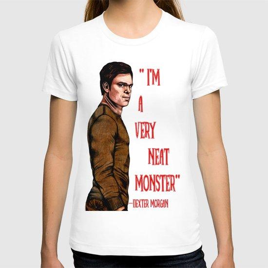 Dexter Morgan  B&W T-shirt