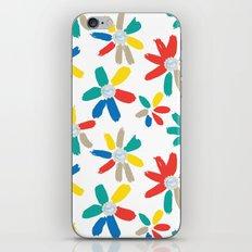 Floral Jewels iPhone & iPod Skin